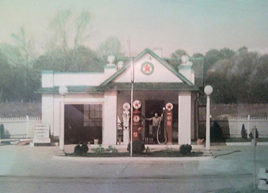 Edge Hill Texaco 1930s