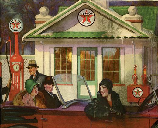 1929 Texaco Advertisement