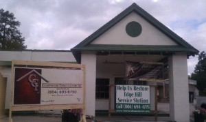 Progress! Restoration Moves Forward at Edge Hill.