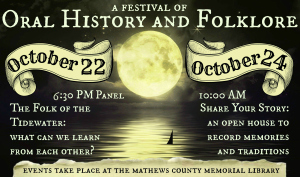 Mathews County Oral History and Folklore: Old House Woods and More!